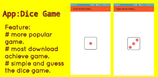 Dice Game aia file for app inventor
