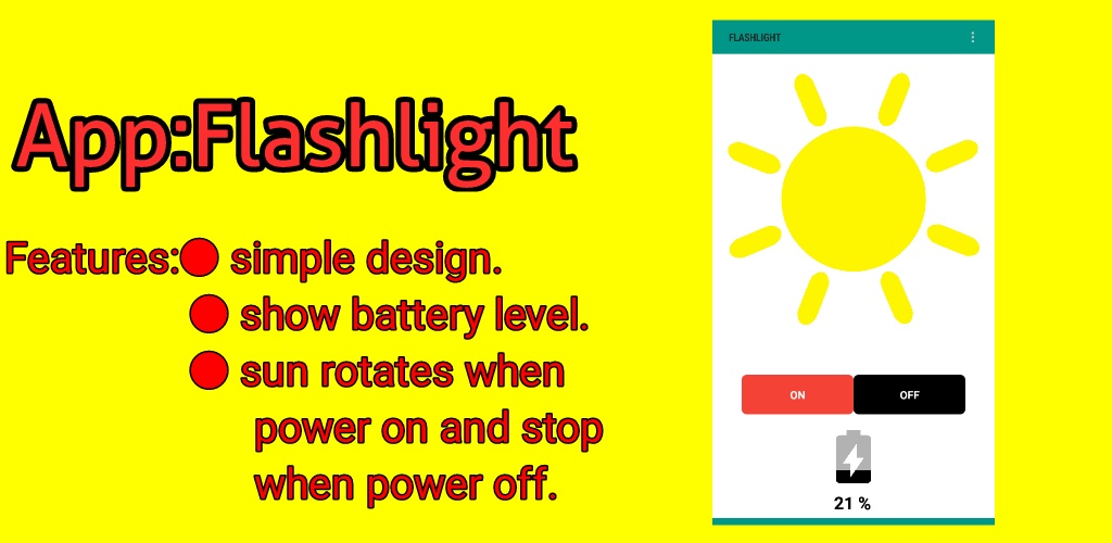 flashlight app aia file