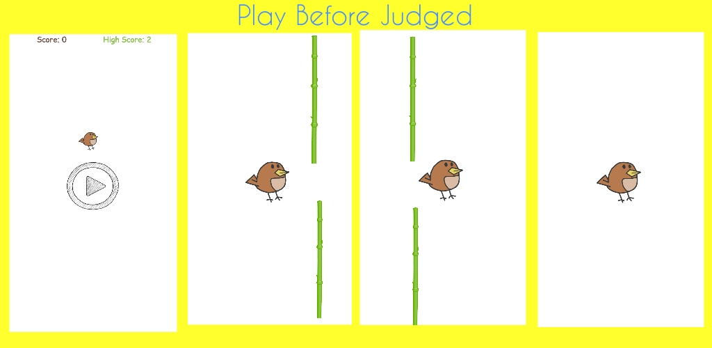 Pocky bird game aia file for thunkable and app inventor – Free