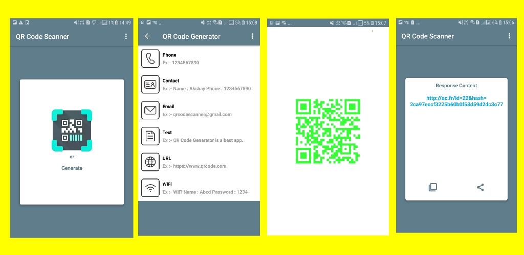 🔥 QR code Scanner and Generator App Free AIA File for Kodular