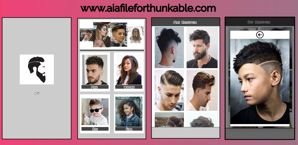 HairStyle App (HairO) aia file for Kodular
